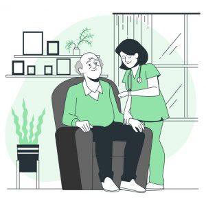гериатрическая клиника, дом престарелых, аллергия, акупунктура, эффект плацебо, ОРВИ, ВИЧ/СПИД