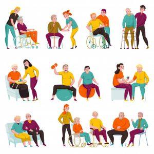 психоанализ, дом престарелых, гериатрический пансионат, остеомиелит, реабилитационные программы, психические расстройства