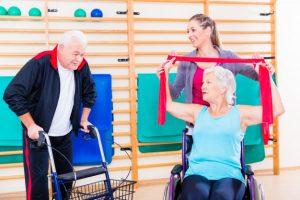 реабилитация после инсульта, дом престарелых, гериатрическая клиника, ЛФК (лечебная физкультура), болезнь Альцгеймера