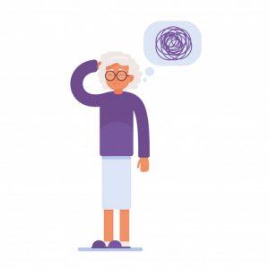 МРТ, КТ, гериатрическая клиника, болезнь Альцгеймера, маразм, умеренная деменция