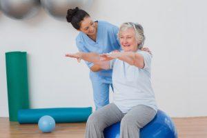 ЛФК, лечебная физкультура, дом престарелых, центр реабилитации, гериатрическая клиника, реабилитация после инсульта